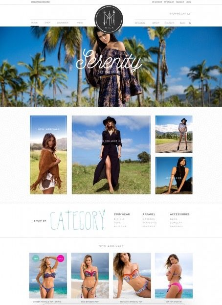 web-site-design-for-a-bikini-company